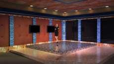 Virtual Set Studio 141 for HD Extreme is a designer room with a view.