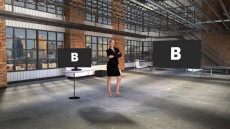 Virtual Set Studio 192 for vMix is a New York Loft Studio with optional screens and furniture.