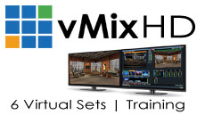 vMix HD, Training, Virtual Set Package One Bundle
