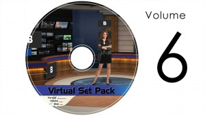 Virtual Set Pack Volume 6 Wirecast:  Royalty Free, Includes 10 Virtual Sets with 16 Angles Each in Wirecast Format: Studio183 Studio184 Studio186 Studio187 Studio188 Studio189 Studio190 Studio191 Studio192 Studio193
