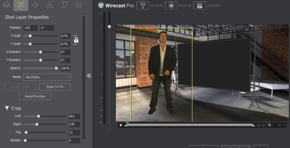 Wirecast Chroma Key Tutorial