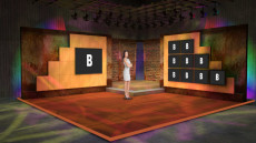 Virtual Set Studio 098 for Wirecast is a nice presentation room with screens.