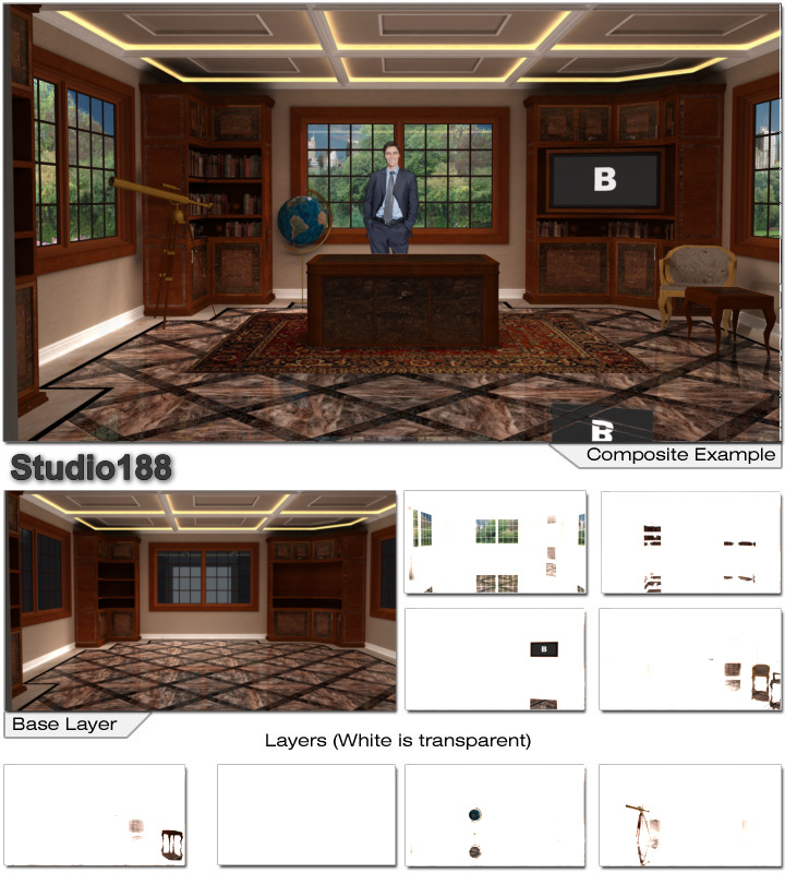 ... Rich Wood Furniture And Optional Desk; Studio 188 HD ...