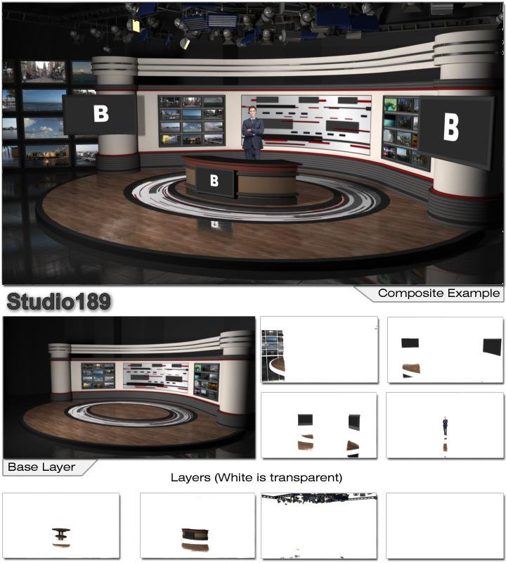 Virtual Home Design Studio: Virtual Set Studio 189 For VMix Is Perfect Presentations