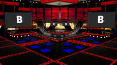Virtual Set Studio 191 for vMix is an amazing stage that can be configured for music, news, and presentations.